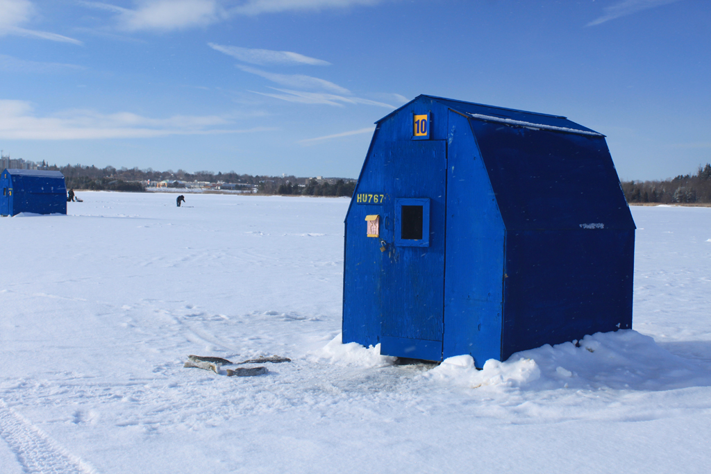 Island Lake Rentals Ice Fishing Credit Valley