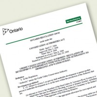 Permits and Regulations document