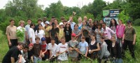 Conservation Youth Corps group shot