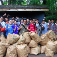 Conservation Youth Corps Work Day