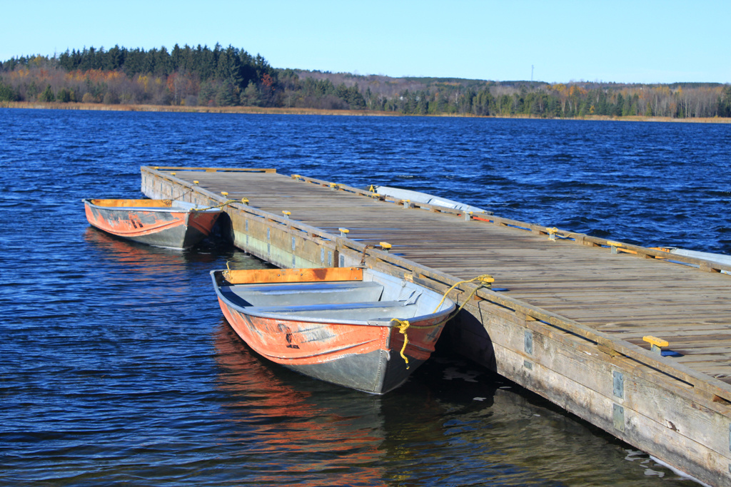 Island lake conservation area credit valley conservation for Lake fishing boats