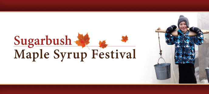 Maple Syrup Festival Web Banner