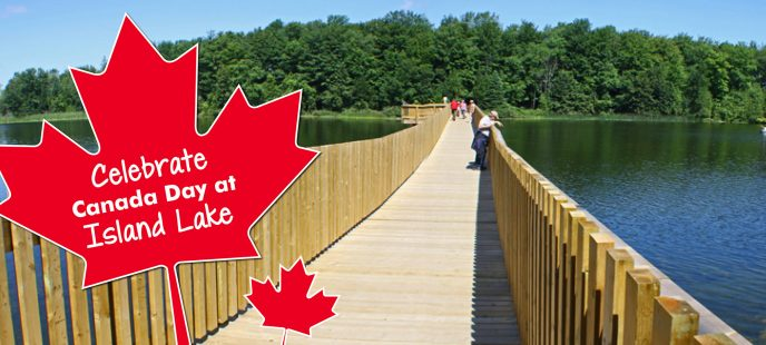 Canada Day at Island Lake Conservation Area