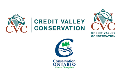 credit valley conservation and conservation ontario logos