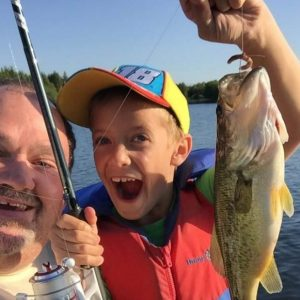 Record Catches at 10th Annual Island Lake Bass Derby