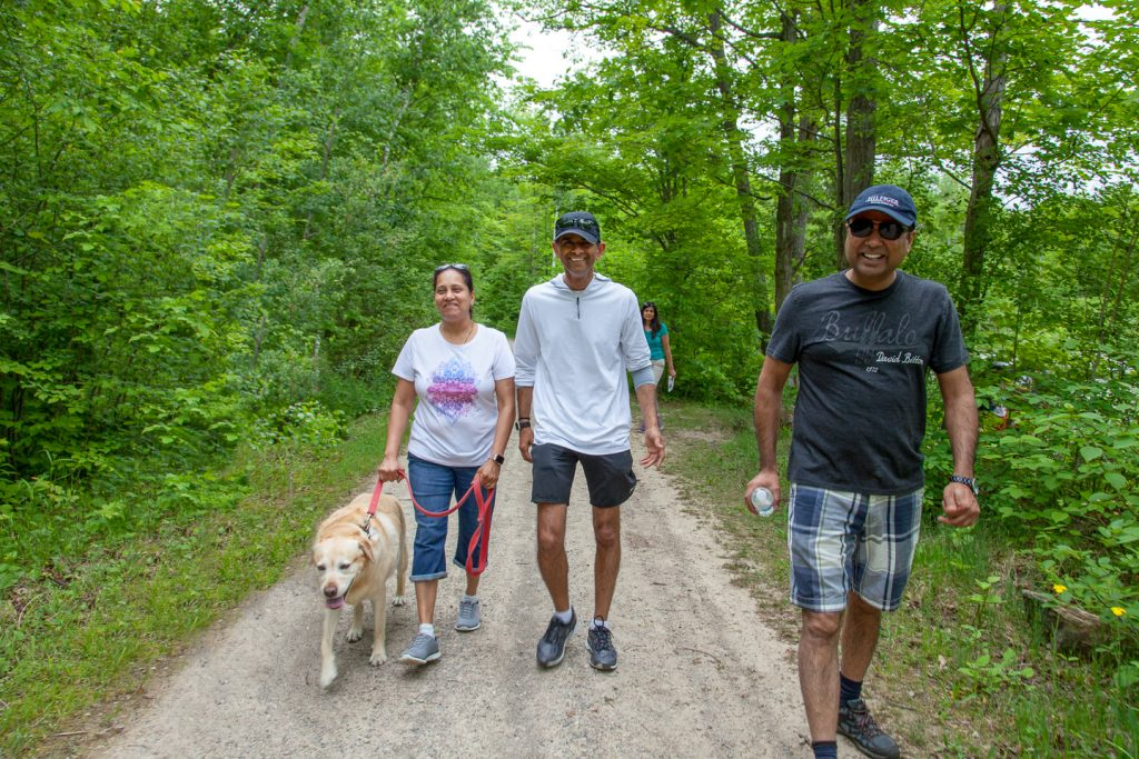 Conservation Parks are for your whole family…even the dog