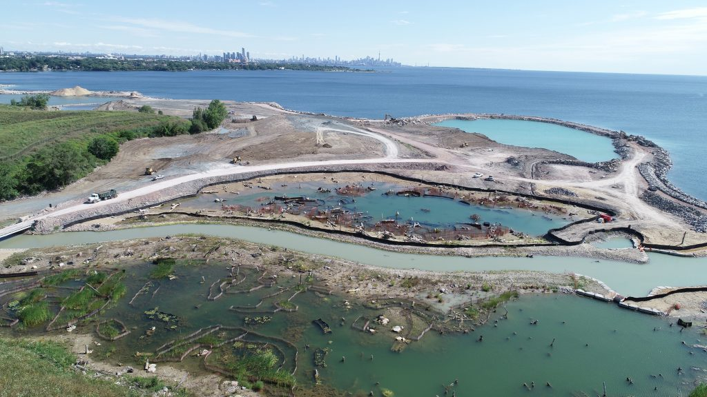 Jim Tovey Lakeview Conservation Area Takes Shape