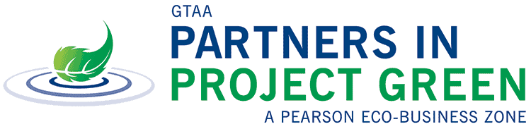 GTAA Partners in Project Green, a Pearson Eco-Business Zone.